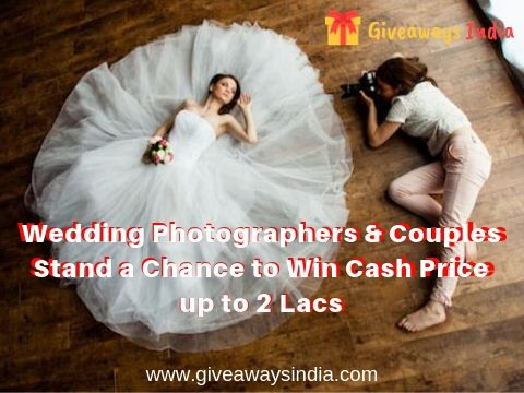 Win cash price for sending wedding promo video