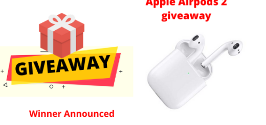 Apple Airpods 2 giveaway