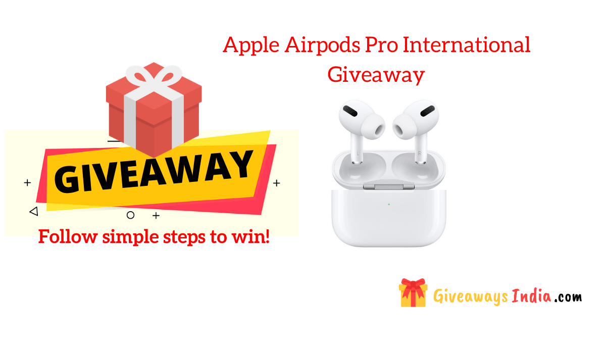 Apple Airpods Pro International Giveaway
