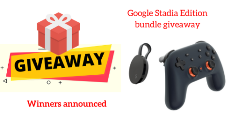 Google Stadia Edition bundle Giveaway