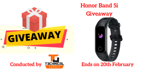 Honor Band 5i Giveaway