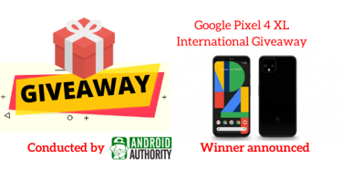 Google Pixel 4 XL International Giveaway