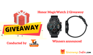Honor MagicWatch 2 Giveaway