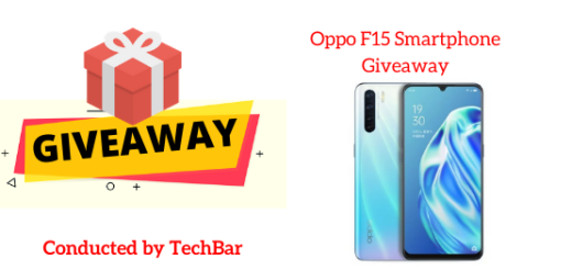 Oppo F15 Smartphone Giveaway
