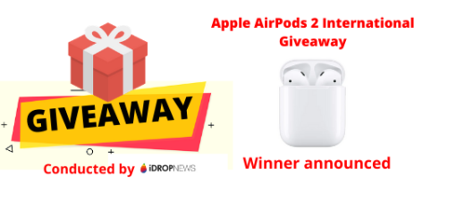 Apple AirPods 2 International Giveaway