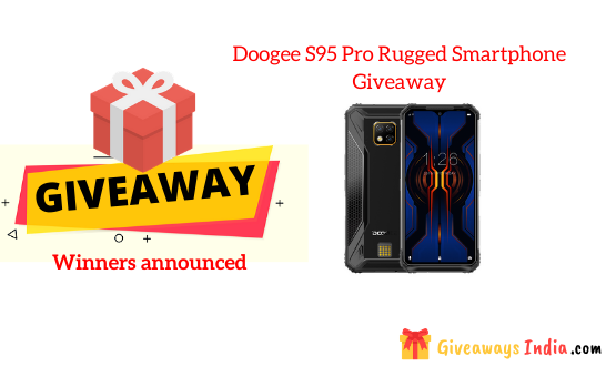 Doogee S95 Pro Rugged Smartphone Giveaway