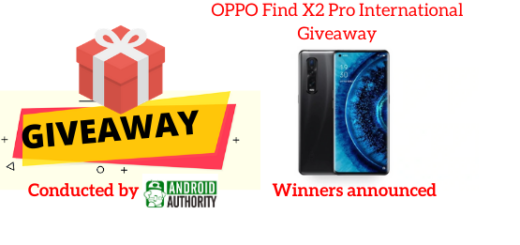 OPPO Find X2 Pro International Giveaway