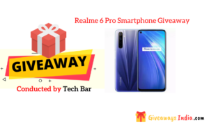 Realme 6 Pro Smartphone Giveaway