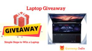Win a Laptop