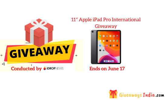 11″ Apple iPad Pro International Giveaway