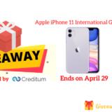 Apple iPhone 11 International Giveaway