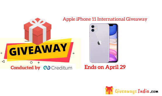 Apple iPhone 11 International Giveaway