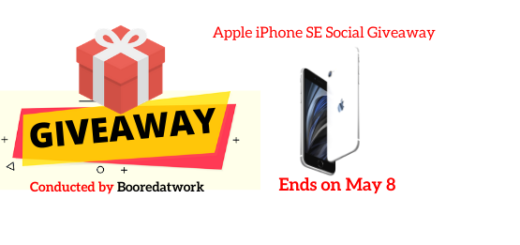 Apple iPhone SE Social Giveaway
