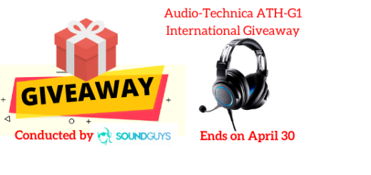 Audio-Technica ATH-G1 International Giveaway