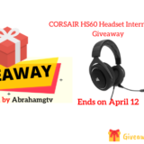 CORSAIR HS60 Headset International Giveaway