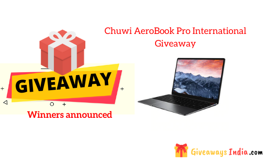 Chuwi AeroBook Pro International Giveaway