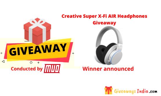 Creative Super X-Fi AIR Headphones Giveaway