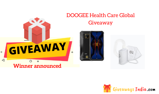 DOOGEE Health Care Global Giveaway
