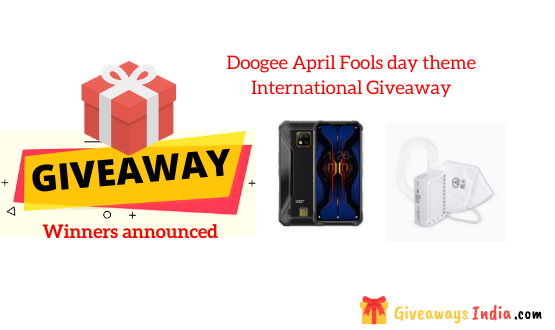 Doogee April Fools day theme International Giveaway