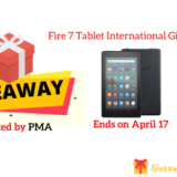 Fire 7 Tablet International Giveaway