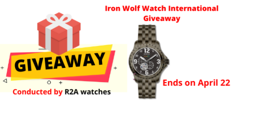 Iron Wolf Watch International Giveaway