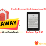 Kindle Paperwhite International Giveaway