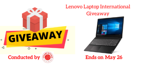 Lenovo Laptop International Giveaway