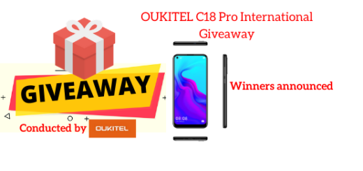 OUKITEL C18 Pro International Giveaway
