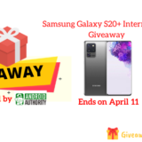 Samsung Galaxy S20+ International Giveaway