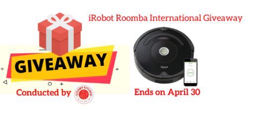 iRobot Roomba International Giveaway