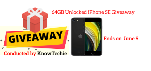 64GB Unlocked iPhone SE Giveaway