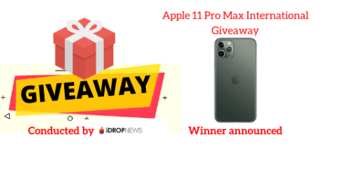 Apple 11 Pro Max International Giveaway