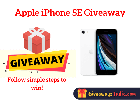 Apple iPhone SE Giveaway