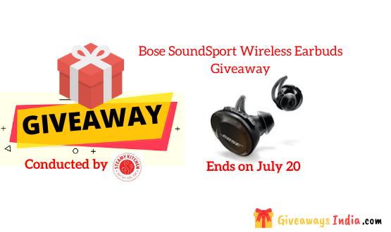 Bose SoundSport Wireless Earbuds Giveaway