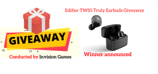 Edifier TWS5 Truly Earbuds Giveaway