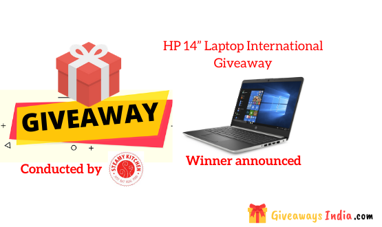 "HP 14"" Laptop International Giveaway"