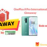 OnePlus 8 Pro International Giveaway