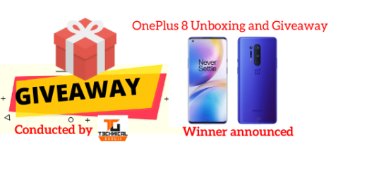 OnePlus 8 Unboxing and Giveaway