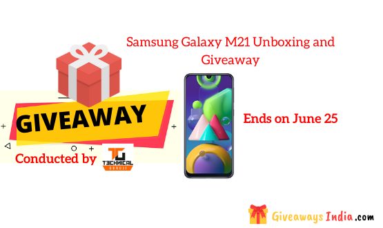 Samsung Galaxy M21 Unboxing and Giveaway