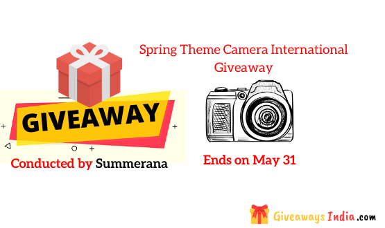 Spring Theme Camera International Giveaway