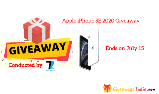 Apple iPhone SE 2020 Giveaway