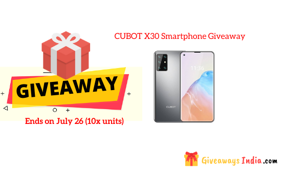 CUBOT X30 Smartphone Giveaway