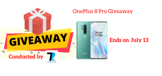 OnePlus 8 Pro Giveaway