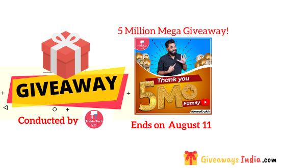 5 Million Mega Giveaway!