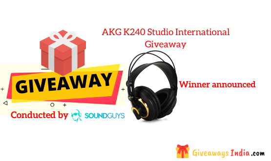 AKG K240 Studio International Giveaway