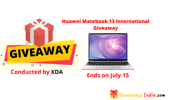 Huawei Matebook 13 International Giveaway