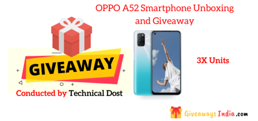 OPPO A52 Smartphone Unboxing and Giveaway