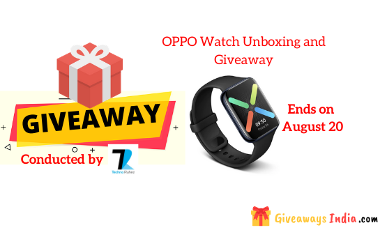 OPPO Watch Unboxing and Giveaway