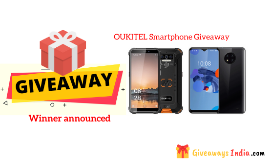 OUKITEL Smartphone Giveaway