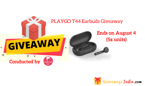 PLAYGO T44 Earbuds Giveaway